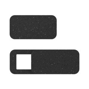 Duurzame webcamcover zwart