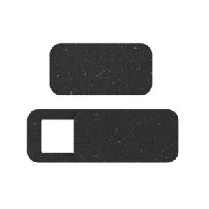 Duurzame webcamcover zwart vierkant